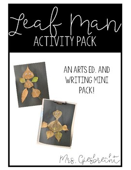 """Leaf Man"" Activity Pack"