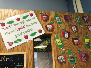 """""""Leaf"""" Through One of These""""Apple""""solutely Good Books - Bulletin Board"""