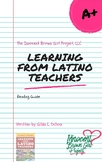 """""""Learning From Latino Teachers"""" Reading Guide"""