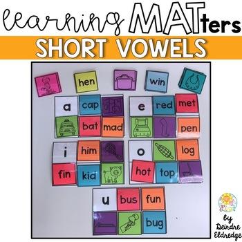 """Learning MATters"" Short Vowels CVC"