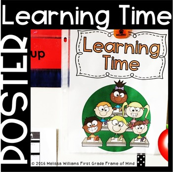 """""""Learning Time"""" Poster"""