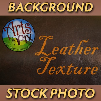 """Leather Texture"" - Photograph - Leather Background - Stock Photo"