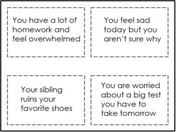"""Lemons to Lemonade"" Coping Skills Game for School Counseling"