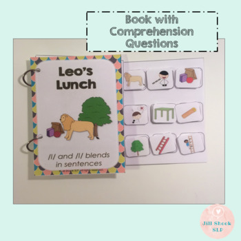 Leo's Lunch: An Interactive Book for Articulation & Language: /l/ & /l/ blends