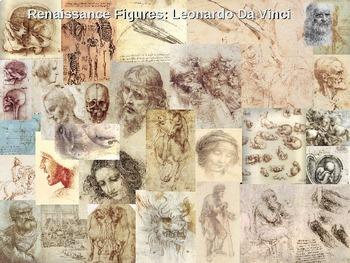 . Leonardo Da Vinci!  Visual, textual, engaging 25-slide PowerPoint