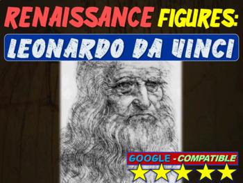 . Leonardo Da Vinci!  Visual, textual, engaging 25-slide P