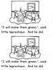 """Leprechaun Goes to Dinner"" (A March Emergent Reader Dollar Deal)"