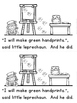 """""""Leprechaun Goes to Art Class"""" (A March Emergent Reader Dollar Deal)"""