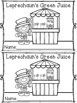 """Leprechaun's Green Juice"" (""A How To"" March Emergent Reader Dollar Deal)"