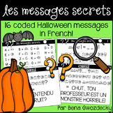 {Les Messages Secrets: L'Halloween!} 16 coded Halloween me