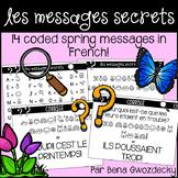 {Les Messages Secrets: Le printemps!} 14 French coded spri