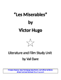 """""""Les Miserables"""" Victor Hugo Literature and Film Study (2016)"""