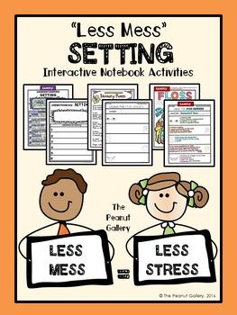 """Less Mess"" Setting Interactive Notebook Activities"