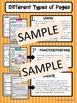 """""""Less Mess"""" Onomatopoeia Interactive Notebook Activities"""
