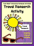 """""""Less Mess"""" Travel Research Activity"""