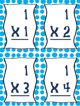 """""""Let It Snow"""" Winter Multiplication Game"""