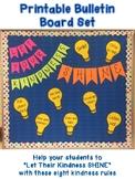 """Let Your Kindness SHINE"" Bulletin Board Set--Promote Clas"