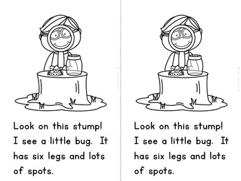 """""""Let's Find Bugs"""" Fact and Opinion (A Spring Emergent Reader Dollar Deal)"""