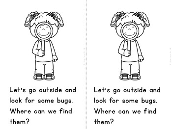 """Let's Find Bugs"" Fact and Opinion (A Spring Emergent Reader Dollar Deal)"