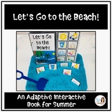 """""""Let's Go to the Beach!""""  An Adapted Interactive Book"""