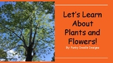 """Let's Learn About Plants and Flowers!"" Discussion Prompt"