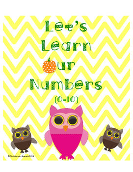 """Let's Learn Our Numbers."" Fall theme"