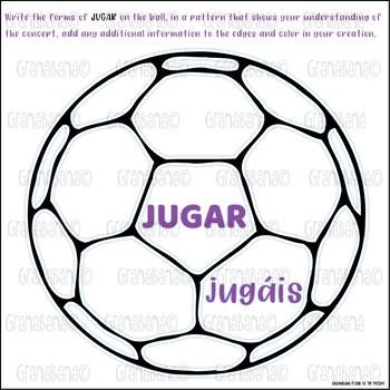 El Verbo JUGAR: ¡Let's PLAY! as in a game or a sport