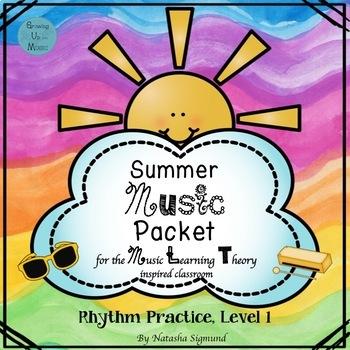 Summer Packet: Rhythm Practice, Level 1