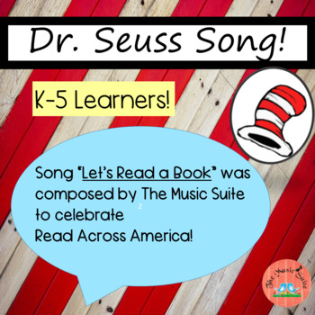 """Dr. Seuss"" themed SONG to celebrate Read Across America!!"