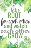 'Let's Root for Each Other' Poster