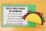 """""""Let's Taco 'bout Shapes!"""" - Make Your Own Shape Taco"""