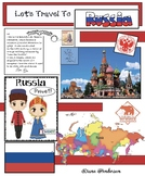 """""""Let's Travel To Russia!"""" For """"Travels Around the World"""" Packet"""