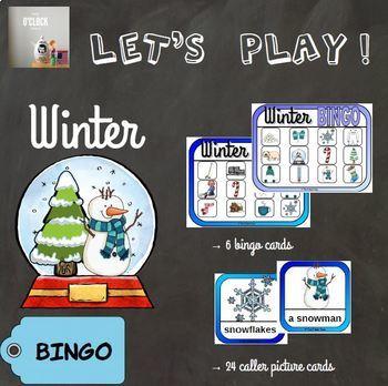 [Let's play ! ] Winter bingo