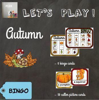 [Let's play ! ] Autumn bingo