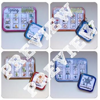 [Let's play ! ] Four seasons bingo * BUNDLE *