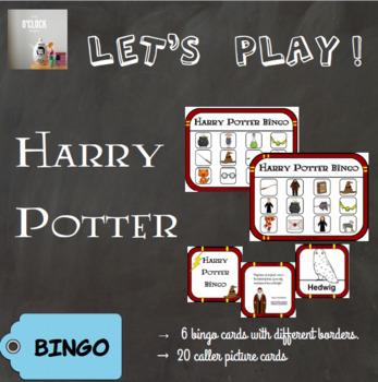 [Let's play ! ] Harry Potter bingo
