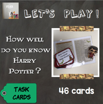 [Let's play ! ] Harry Potter task cards