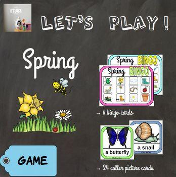 [Let's play ! ] Spring bingo