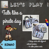 [Let's play] Talk like a pirate day bingo