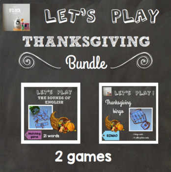 [Let's play] Thanksgiving games - bundle