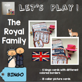[Let's play ! ] The Royal family bingo