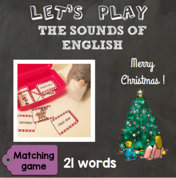 [Let's play] The sounds of English - Matching game : Christmas special