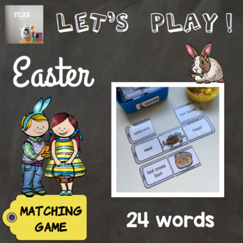 [Let's play] The sounds of English - Matching game : Easter special