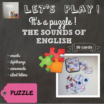 [Let's play ! ] The sounds of English - puzzles