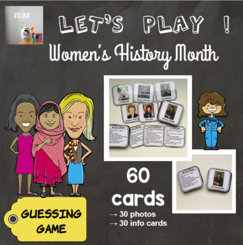 [Let's play ! ] Women's History Month - a guessing game