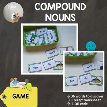 [Let's play with...] Compound nouns - set 3