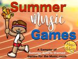 Summer Music Games {Sampler}