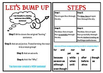 """""""Lets Bump Up"""" our sentences"""