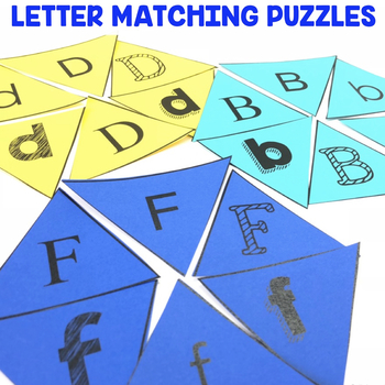 """""""Letter Matching Puzzles"""" Center"""