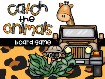 *Letter Recognition Game* Catch the Animals